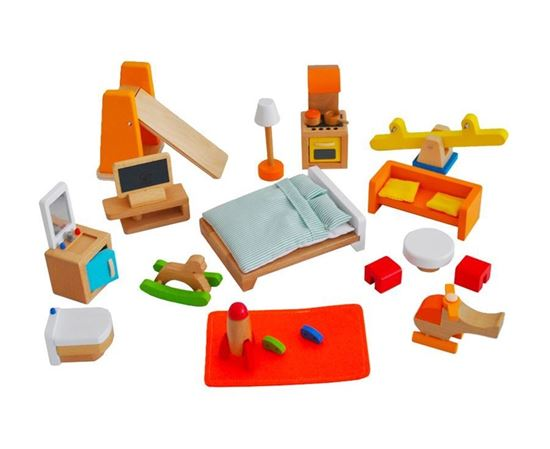 Accessori Dollhouse MUtable - set completo Hape Toys